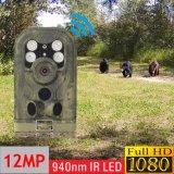câmera impermeável da fuga IP68 da câmera da fuga da caça dos animais selvagens 12MP