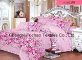 寝具の一定の大型4PC羽毛布団カバー一定のMicrofiberの極度の柔らかい生命
