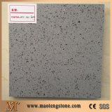 Tuiles et brames grises de pétillement de pierre de quartz pour la couleur d'échantillon de partie supérieure du comptoir