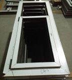Fenêtre coulissante UPVC série 60mm avec cadre de couverture murale