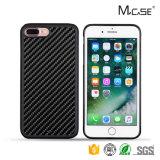 Случая телефона волокна TPU углерода продуктов Hotsale iPhone 2017 аргументы за перемещения неподдельного передвижное 7 добавочное