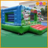 Bouncer di salto del Bouncer di divertimento gonfiabile animale del maiale (AQ02375)