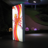 Livraison gratuite Professional Double Sided Advertising Light Box Fabricant