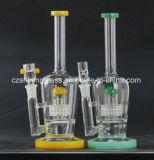 Colorido perfeito fábrica mais baratos para tubo de água de vidro de fumo do tabaco em rama