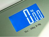 Badezimmer-Schuppen-Körpergewicht-Schuppe des Hartglas-200kgs/440lb elektronische Digital
