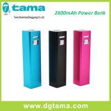 la Banca di riserva esterna portatile di potere del caricabatteria del USB 2600mAh