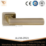 Neuestes Möbel-Zink-Aluminiumtür-Hebelgriff auf Firmenschild (AL238-ZR23)