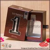 Sliding Shiny Silver Card Printing Box pour bouteilles de parfum