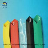 Colores de la poliolefina de la relación de transformación del 2:1 del aislante de tubo del encogimiento del calor de Sunbow