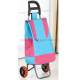 Nouveau panier pignon pliant Matériel PVC Shopping Bagage Trolley