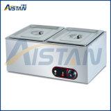 Eh810 libèrent le réchauffeur de nourriture chaud de potage de buffet électrique commercial debout d'acier inoxydable Bain Marie à vendre
