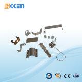 Messingstempeln, Stahlstempeln, Metall, das Teile stempelt