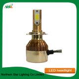 Projecteur à LED de l'or C6 H8 de la puce de rafles s'appliquent à Motory Auto Cras