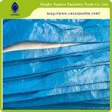 PE Versterkte HDPE Plastic Geteerde zeildoeken Met een laag bedekte Tarps Tb003 van het Geteerde zeildoek Blad