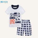 印刷様式の赤ん坊の衣服によってとかされる綿の赤ん坊のスーツ