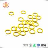 脂肪性溶媒抵抗のViton黄色いFKM ETP600sのOリング