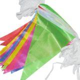 La stringa personalizzata esterna multicolore di disegno inbandiera la stamina per fare pubblicità