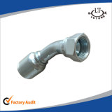 Instalaciones de tuberías de una sola pieza de acero hidráulicas de Parker