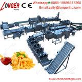 Linea di produzione completamente automatica professionale delle patatine fritte macchina