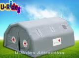 휴대용 공기에 의하여 밀봉되는 팽창식 병원 천막