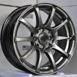 Silver / Hyper Black / Chrome Wheels Car Jantes de roda de liga leve