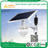 Lumière de jardin solaire LED avec batterie au lithium et lumière faible