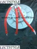 Pmg260 1kw 600rpm Générateur de turbine à vent à axe vertical Disque Alternateur sans courant Générateur d'aimants permanents à rotor à 3 phases