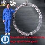 Большое выкованное оборудование бурения нефтяных скважин управляя спиральн коническим зубчатым колесом
