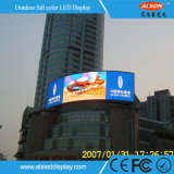 Étalage polychrome de la publicité P10 extérieure avec la pente élevée d'IP