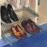 戸棚の綴込の靴ラックオルガナイザー