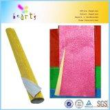 Resistente al agua papel crepé metalizado