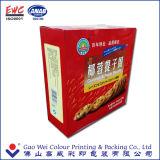 종이 접히는 상자 포장을 인쇄하는 중국 제품 관례,