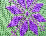 Couvre-tapis tricoté et palier d'animal familier de tissu de tissu et de coton