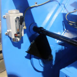 QC12k 절단 6mm 격판덮개를 위한 유압 그네 광속 6000mm 길이 NC 깎는 기계