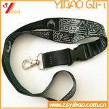 Благонадежный талреп шеи/полиэфира для таможни имеет логос (YB-SM-10)