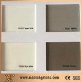 Kensho Light Grey Quartz Pure Color Series Stone