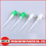 Pompe de lotion en plastique à nervures 24/410 pour l'étanchéité des bouteilles