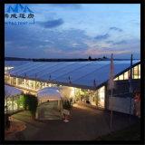 Tenda esterna del Pagoda di evento della festa nuziale variopinta per la soluzione dell'hotel