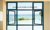 Einfaches u. Form-einzelnes Glasflügelfenster-Aluminiumfenster