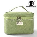 Caisse cosmétique de grand tissu de Capatal de mode, sac de beauté