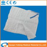 Spugna sterile 100% del giro del cotone della spugna di Laparatomy del ciclo blu rilevabile dei raggi X della spugna della garza