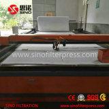 Type automatique contrôlé machine de plaque de chambre de programme de filtre-presse