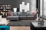 Insiemi della mobilia del salone per l'insieme dello strato/sofà dei 1+3 tessuti