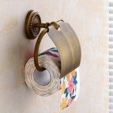 Flg antiker Messingbadezimmertoiler-Papiertuch-Halter
