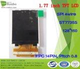 1.77 Zoll 128*160 Spi ursprünglicher nagelneuer LCD Tianma TM018fdz83