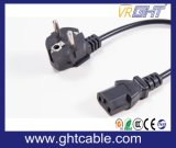 Europeu Cord Power & Plug Power para PC Usando