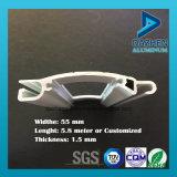 Popular Rolo perfil porta do obturador de alumínio com tamanho personalizado Cores