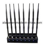 Emittente di disturbo mobile del segnale senza fili registrabile di potere delle 8 fasce per la sala riunioni