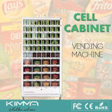 64 деталя шкафа клетки локеров клеток упакованных торговым автоматом