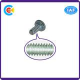 GB/DIN/JIS/ANSI Kohlenstoffstahl/aus rostfreiem Stahl Pflaume-Blüte mit Zapfen-Schraube